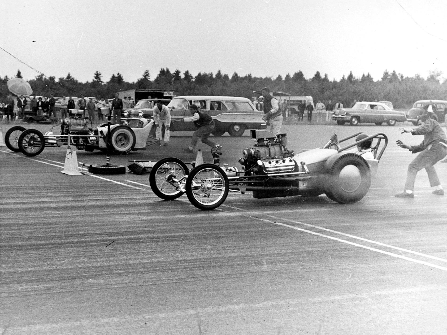Bitchin' Historic Drag Racing Photos From The Golden Age Of Action At Sanford, Maine