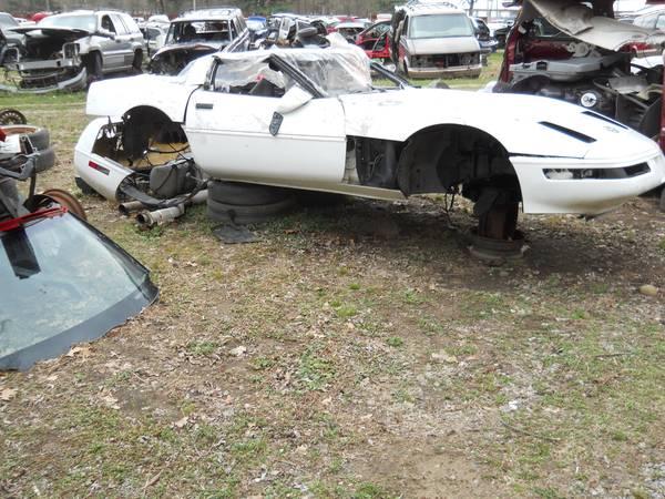 Corvette Salvage Yard 3