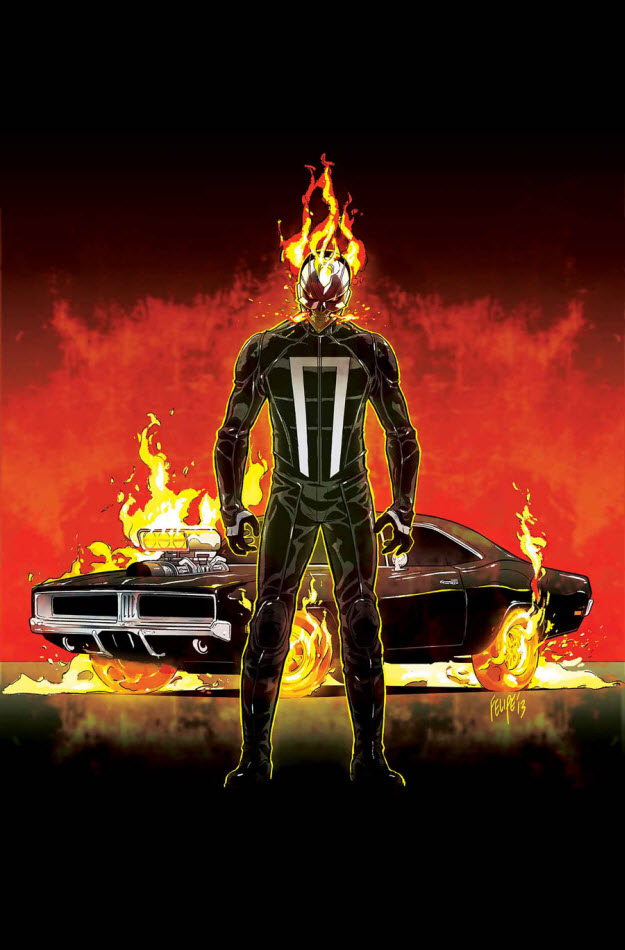 BangShift com Sneak Preview: Marvel has a new Ghost Rider
