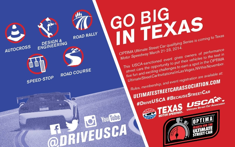 $150 Off From Ridetech For Your USCA Texas Race Entry This Weekend!
