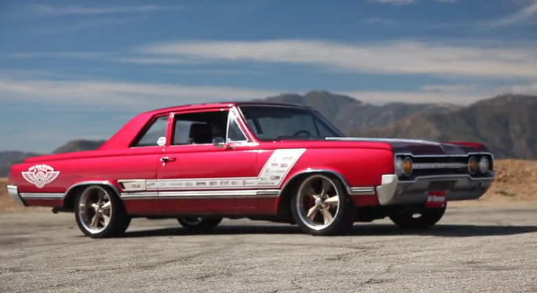 Robert McGaffin's 1965 Olds Gets Profiled On Big Muscle – Olds Powered And Awesome