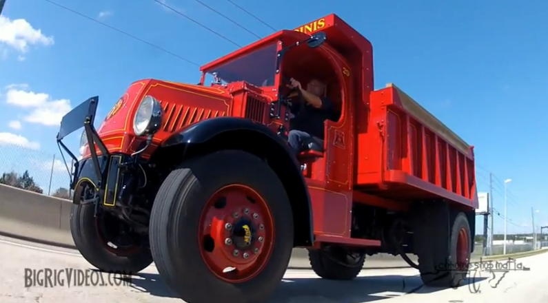 This Video Feature Detailing A 1929 Mack AK Chain Drive Truck Rules – See It Cruise And Learn The History Behind It