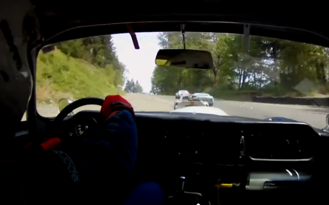Screaming Video: Watch A Jag XKE Race Car Mix It Up With Other Classic Iron At Pacific Raceway