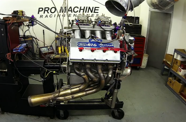Watch An 815ci Ford Hemi Get Wrung Out On The Dyno – Mountain Motor Fun!