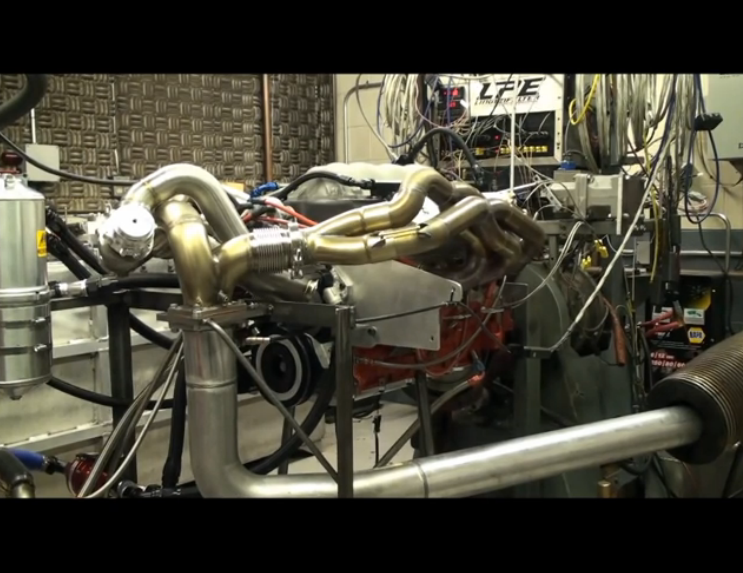 Screaming Dyno Video: Lingenfelter Spins Their Flat Plane Crank LSX Race Engine to Nine Grand