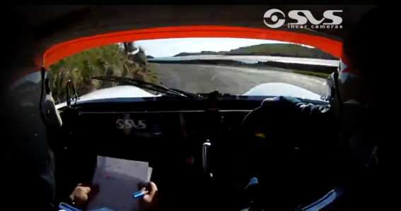 Rally Video: Watch A Gutsy Driver and Co-Driver Power Through An Irish Course Where Mistakes Are NOT An Option