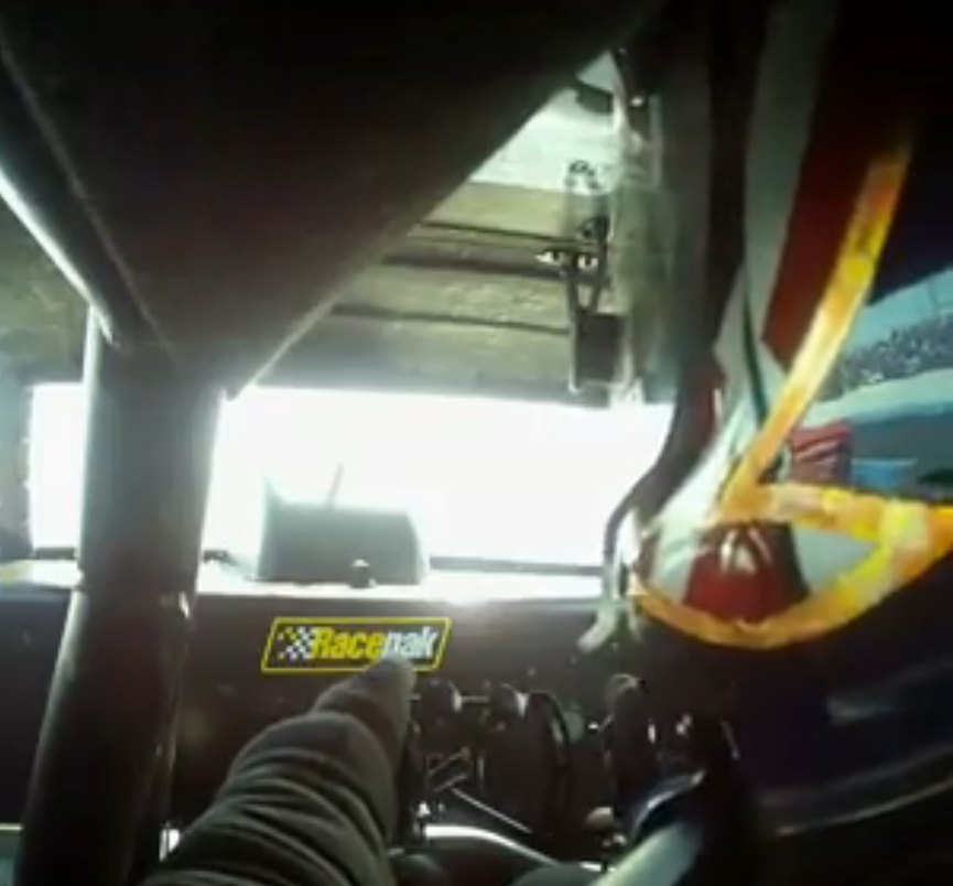 Ride Along With Todd Paton As He Drives The BS Roof Hatch Equipped Crusher Camaro Funny Car Into The 5.80s At Famoso!