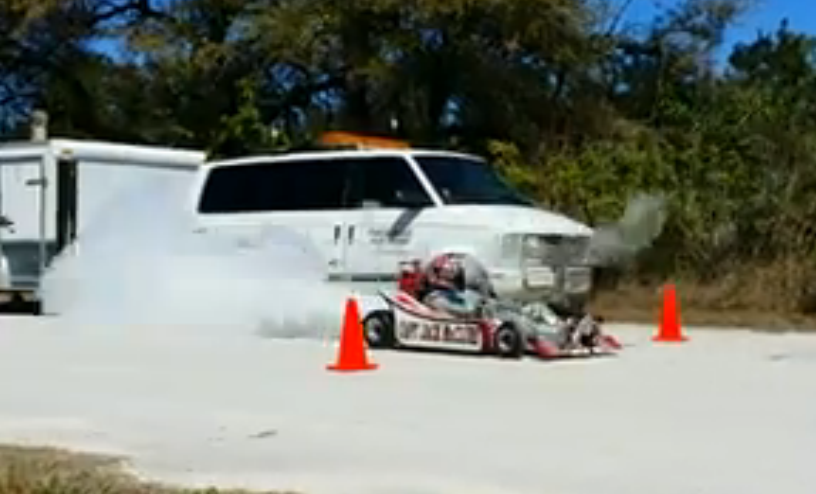 Video Of 88-Year Old  Jack McClure Testing His Rocket Go Kart Emerges – The Hero Rides Again!