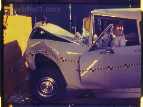 Video Bonanza: Crash Testing Videos From The Late 1970s! Scout, Firebird, Trucks, You Name It!