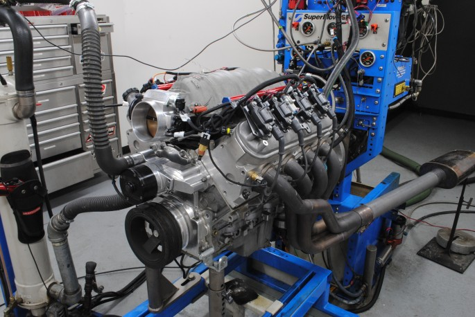 Run on the dyno, the new Fast/RHS/Comp top-end package increased the power output by 125 hp, from 414 hp and 418 lb-ft of torque to 539 hp and 464 lb-ft of torque.