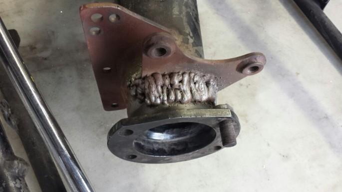 brake welding