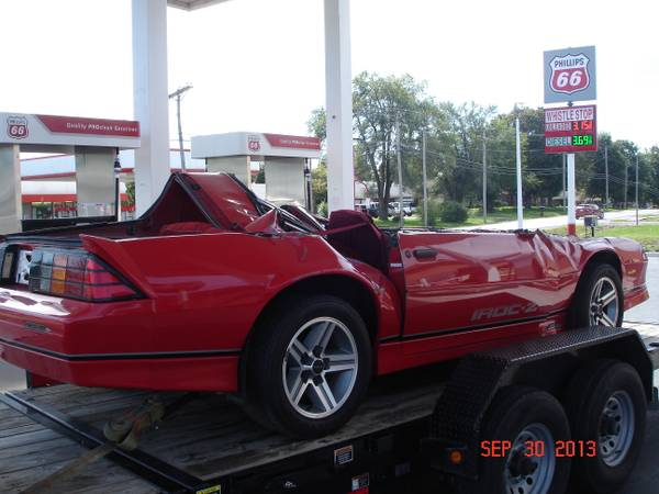 Awesome Auto Salvage >> BangShift.com CL Find: Would You Buy A Decapitated 1987 IROC Camaro For $6,000? - BangShift.com