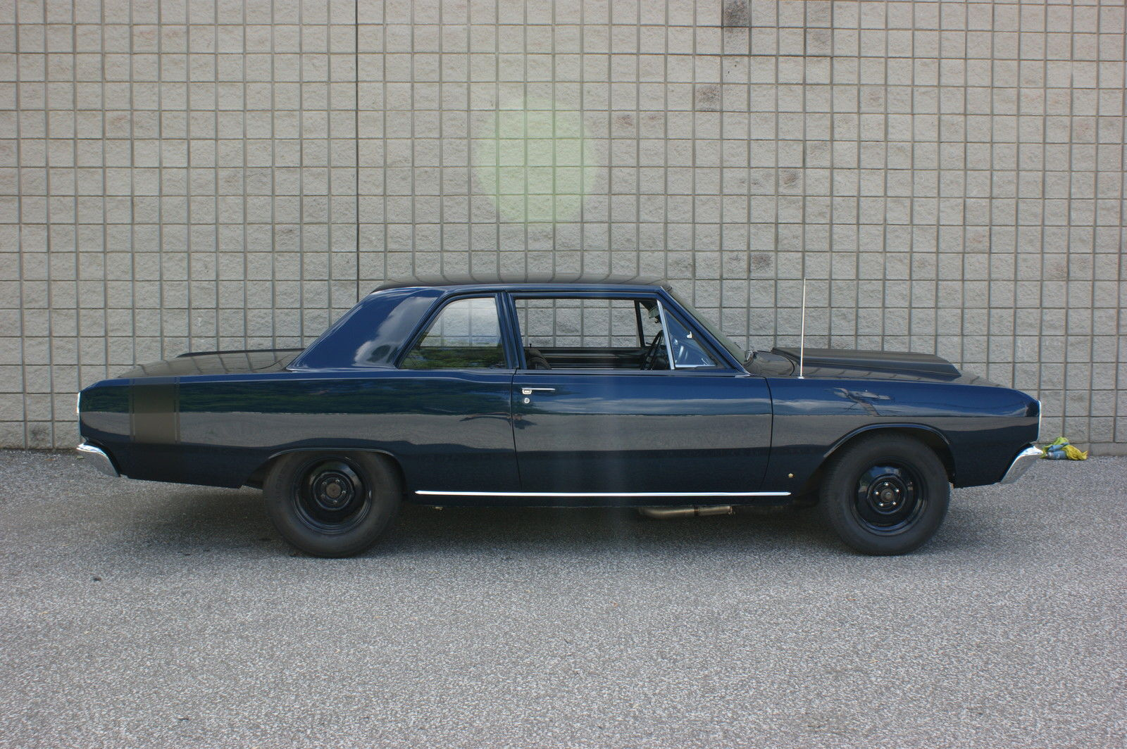 this 1967 dodge dart sedan is one tough looking street sweeper. Black Bedroom Furniture Sets. Home Design Ideas