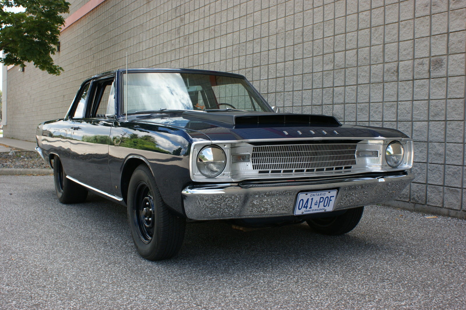This 1967 Dodge Dart Sedan Is One Tough Looking Street Sweeper