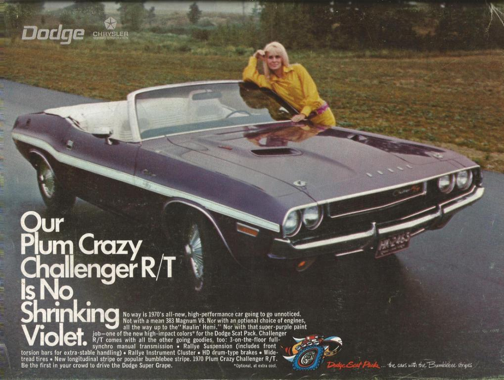Classic Ads From the Pages of Motor Trend Circa 1969