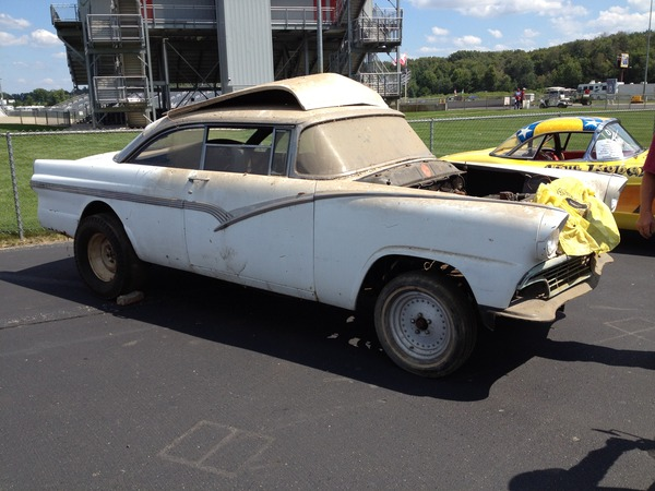 Bangshift Com Barn Find This 430 Lincoln Powered Ford