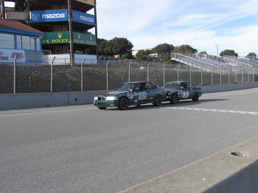 ChumpCar Race Report: La Laguna Zeca-The Dry Lagoon – Chumps On The Corkscrew!