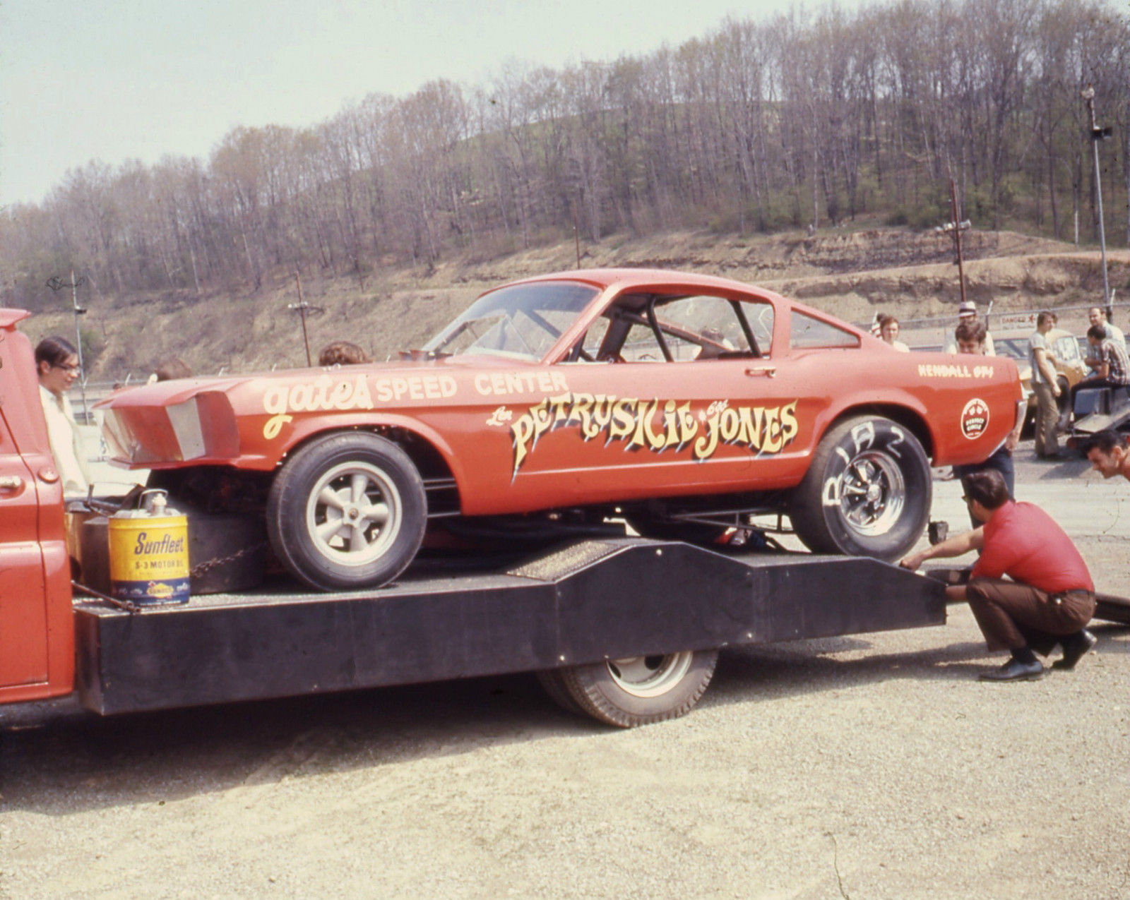 BangShift.com This Homebuilt, STEEL BODIED, Mustang Funny Car Is The ...