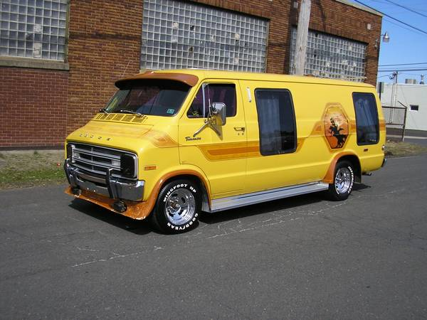 1970s customized vans for autos post. Black Bedroom Furniture Sets. Home Design Ideas