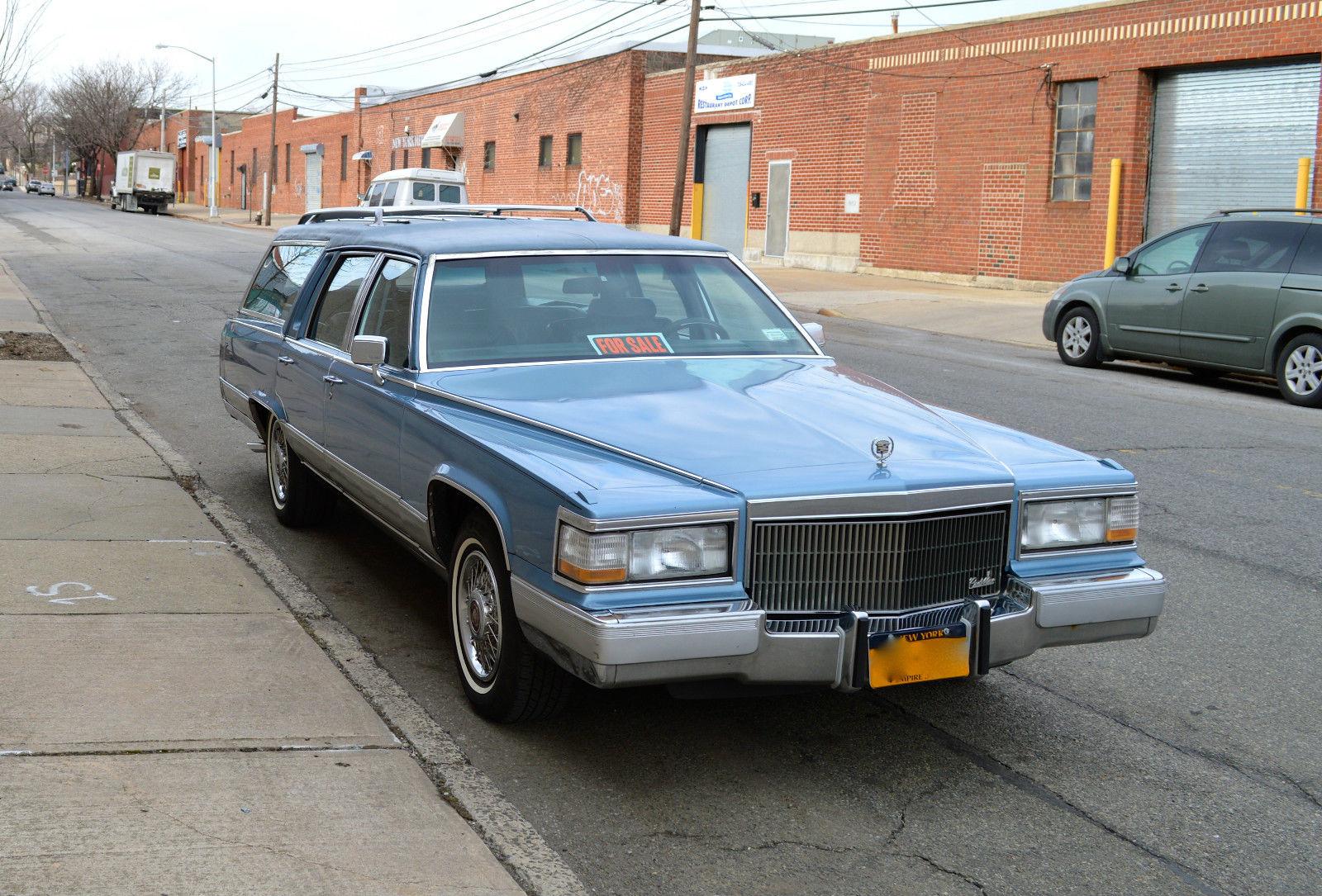 BangShift com 1990 Cadillac Fleetwood Brougham station wagon