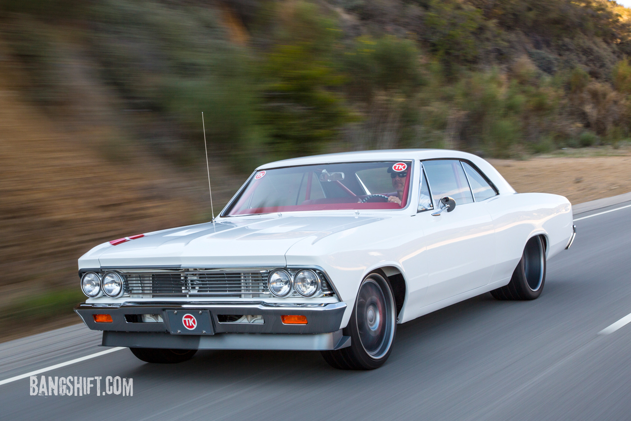 Pure Perfection: Mike Cavanah's '66 Chevelle Makes White The Sexiest Color Ever