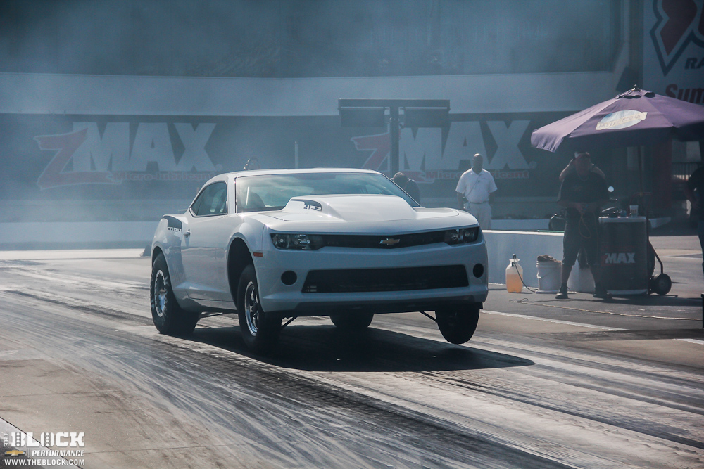 2014 COPO Camaros Spotted Testing At zMax Dragway
