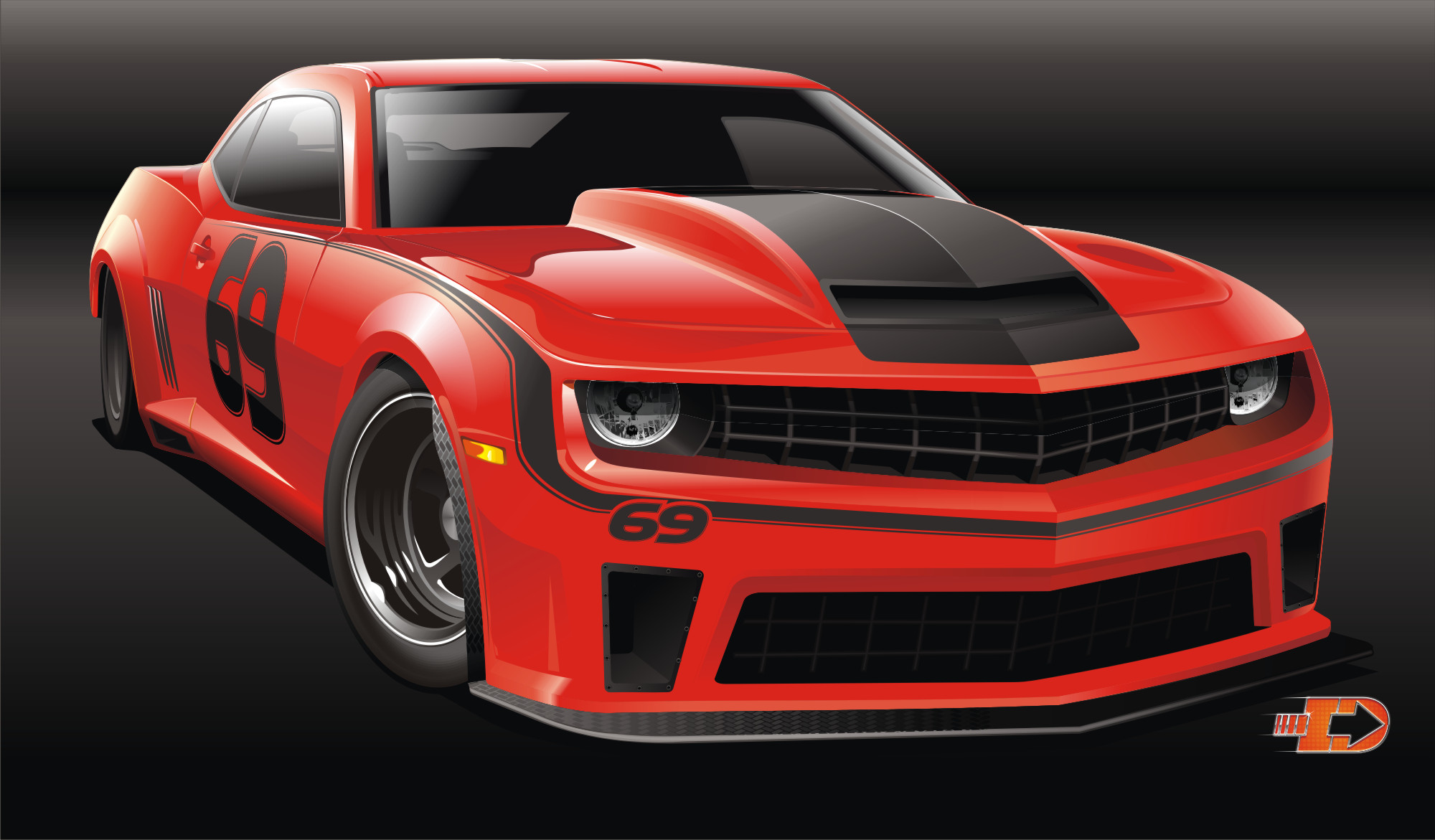 Rumored Rendering: The 2015 Camaro Z/SD – NASCAR Inspired Model Fills Hole Between Z/28 and COPO