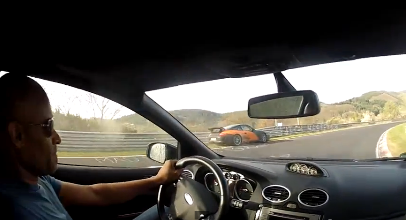 Cool Video: Watch Pro Driver Robb Holland Predict The Crashing Of A Porsche On The Nurburgring Before It Happens