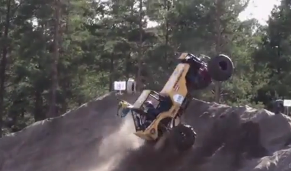 Flips, Flops, Saves, And More. Formula Off Road In Sweden Takes Crazy To A New Level
