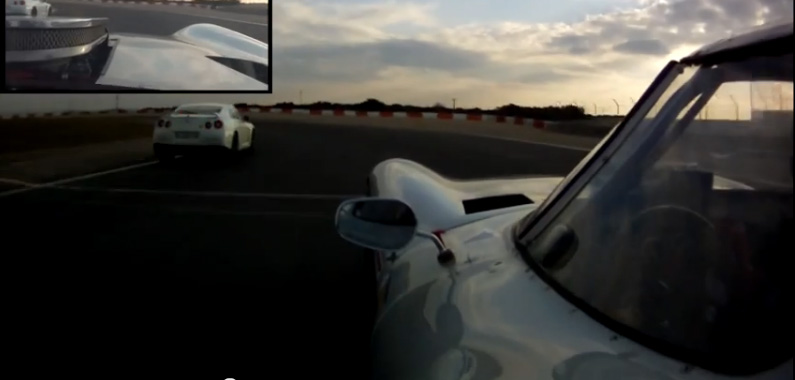 Watch A Bill Thomas Cheetah And A Nissan GT-R Battle On A Road Course – Godzilla VS Cheetah!