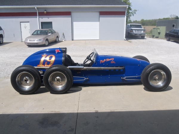 RacingJunk Find: Buy This Perfect Recreation Of The Six Wheeled Pat Clancey Special Indy Car