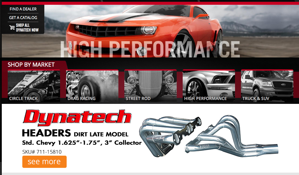 Dynatech Headers Launches New Website – Super Easy To Use – Check It Out!