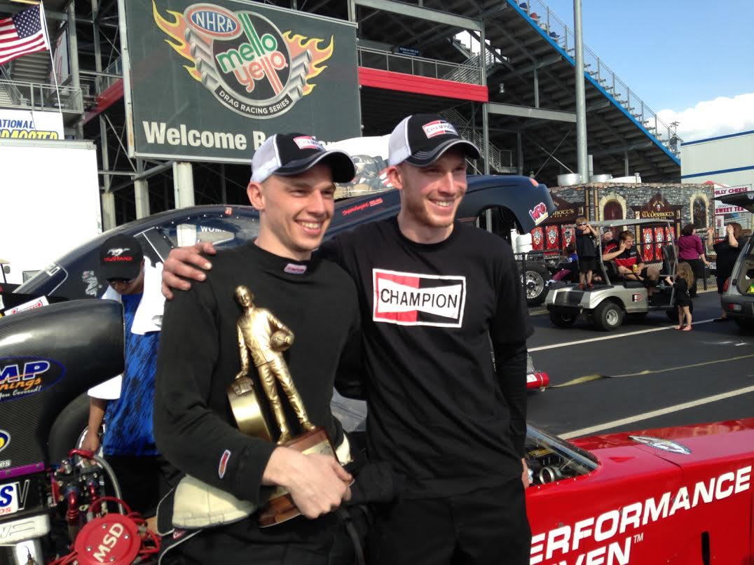 Corey Michalek's Top Alcohol Win At Charlotte Is The Coolest Thing I Have Ever Announced In Drag Racing