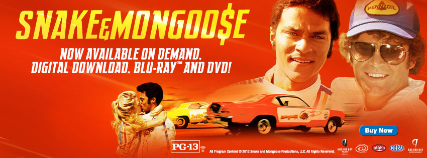 Snake And Mongoose Available On Demand, On DVD, and On Blu-Ray Now