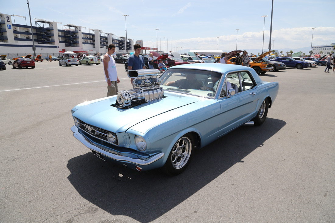 Our Last Blast From The Mustang 50th Birthday Party At Las Vegas Motor Speedway – Pro Touring, Pro Street, More
