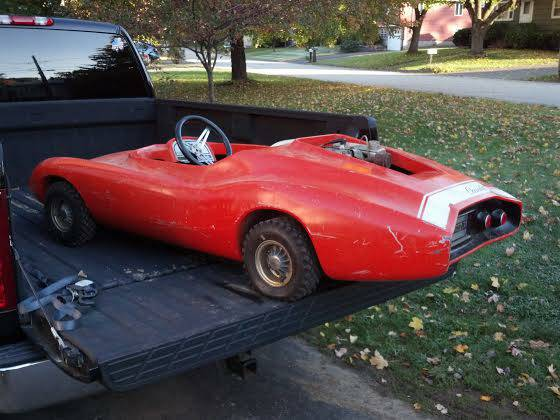 rupp chevy monza jr go kart found on craigslist coolest kart ever