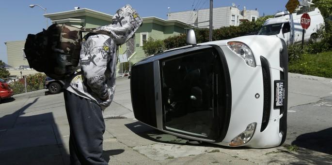 APTOPIX Smart Car Vandalism