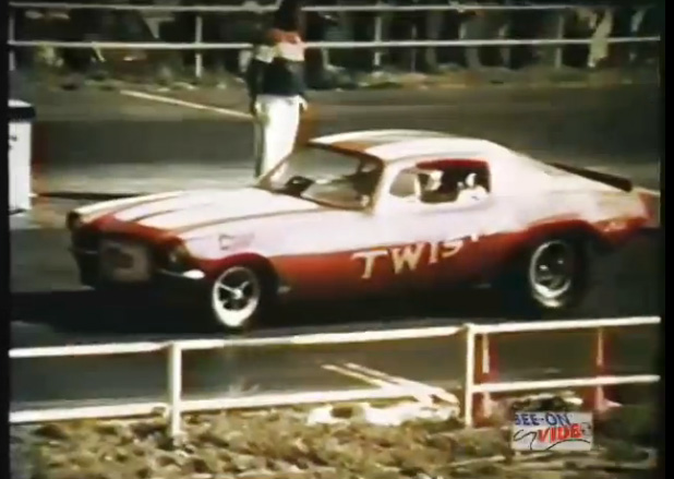 Watch The Super Twister Camaro Take On The Hill Brothers Rapid Transit Barracuda At New England Dragway In '71
