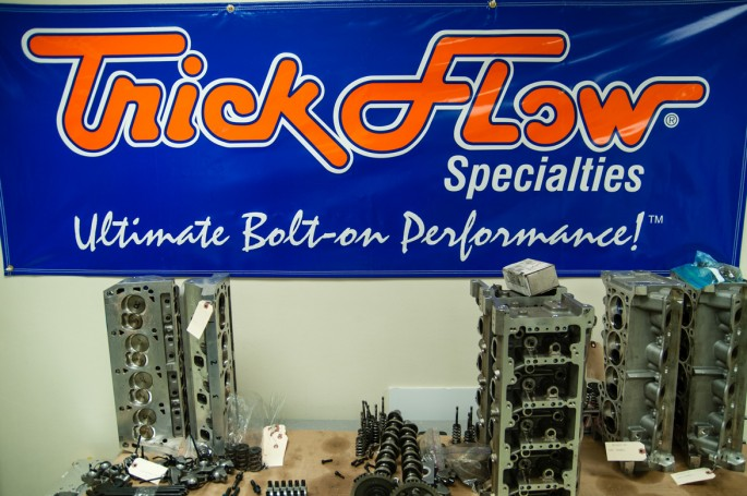 """For years, Trick Flow was known primarily for their Ford products but the company has parts and pieces for GM engines as well. As proof both project Buford T Justice and our recently built 1,000hp """"Cool G"""" LS engine are topped with Trick Flow heads."""