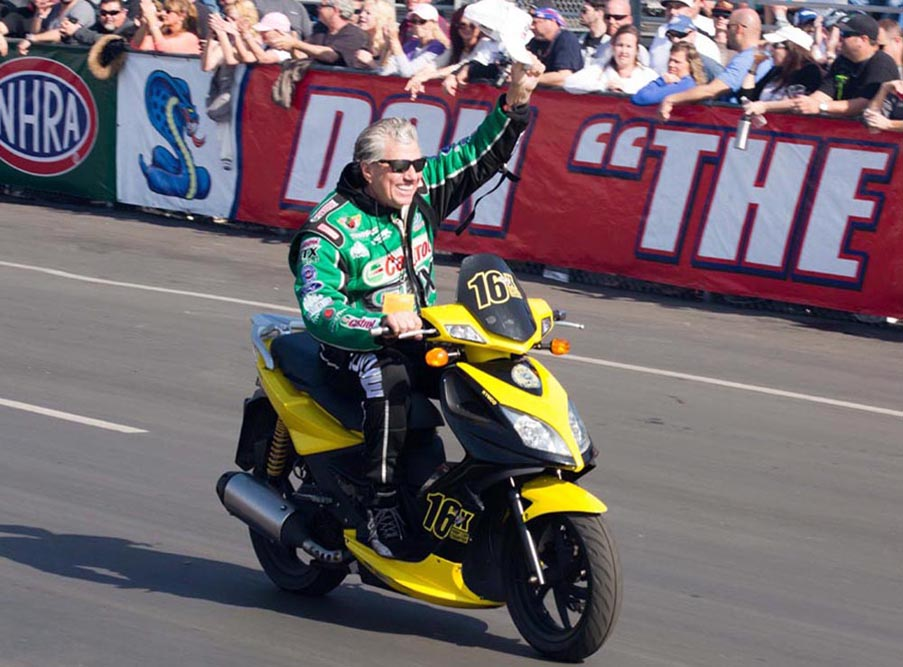 High School Drags With 16X Champ John Force At Auto Club Dragway