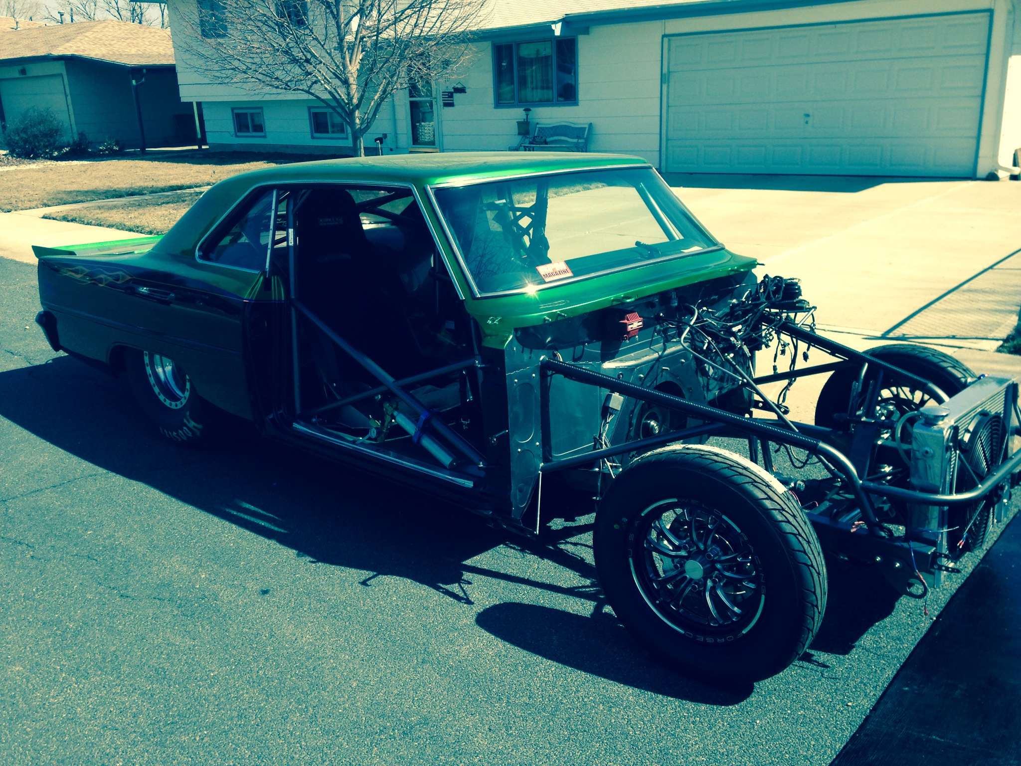 Matt Frost's Drag Week Nova Project Looks And Sounds Like Serious Business – Will It Be Done In Time?