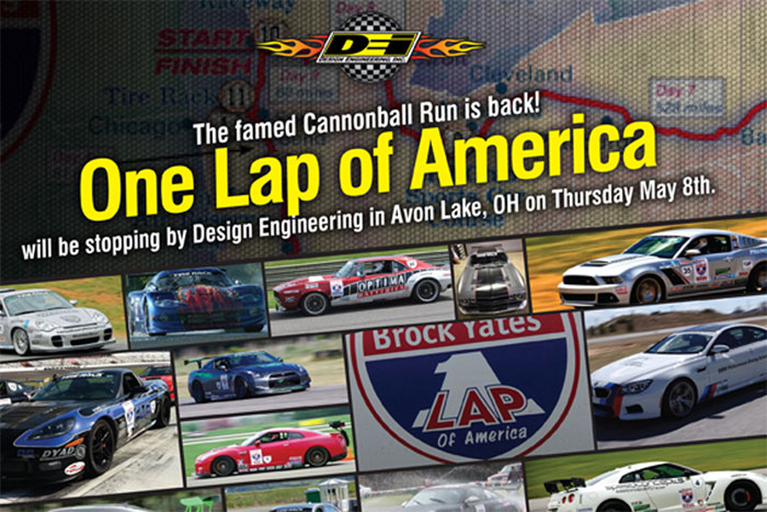Brock Yates' One Lap Of America Is In Full Swing, And Rolling Into DEI Tomorrow! Come Join Them!