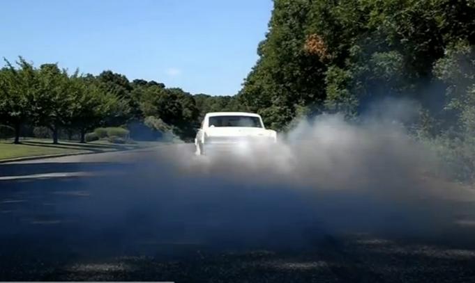 Great Videos Of A 1964 Tempest Turbocharged Vintage Pontiac Four Cylinder Shredding Tires!