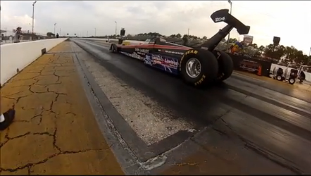 Watch Don Garlits Make Runs In The SR-37 Electric Dragster From All Angles