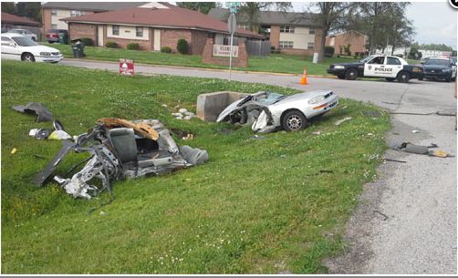 A Classic Camaro Hit This Camry And The Camry Exploded Like It Was In A Jerry Bruckheimer Movie