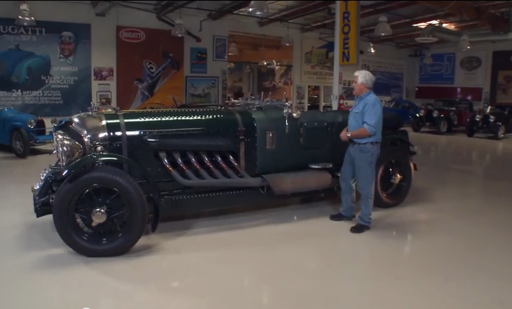 Cruise With Jay Leno In A 27-Liter Merlin Powered 1930 Bentley – This Thing Is Awesome