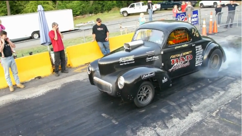 Gene Fulton Built A Killer Old School Gasser And This Is Video Of His First Time Out With It – Jamming Gears And All!