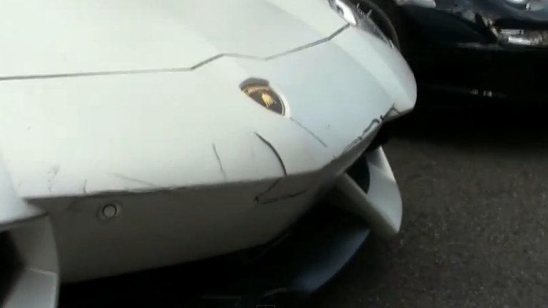 We're Pretty Sure Crashing A Lamborghini Is The Biggest Possible Fail For A Valet (Video)