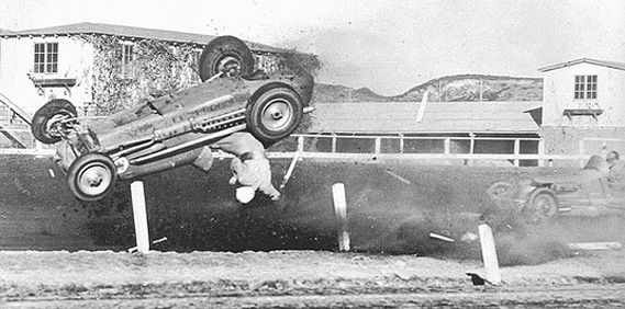 Bing Crosby Built A Race Track In Del Mar, California And One Of America's Greatest Racers Was Killed On It In 1949