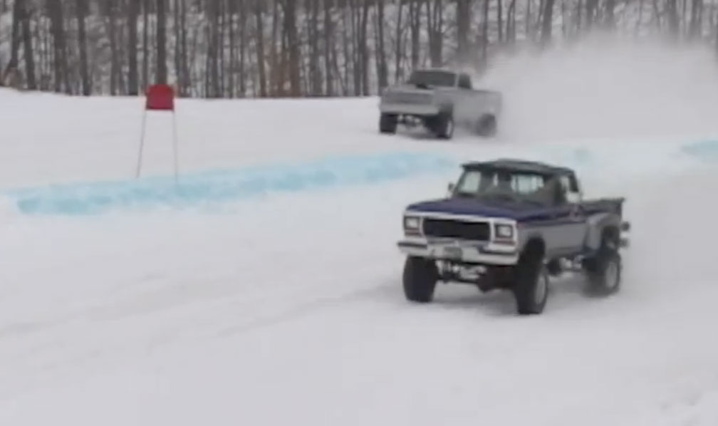 Griztek Snow Challenge Hill Climb Racing Video That Has Us Wishing For White Stuff To Play In!